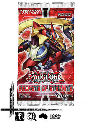 YuGiOh - Secrets Of Eternity Booster Pack. 1st Edition (SECE)
