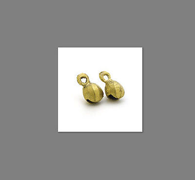 """One Hundred 100 0.75"""" 3/4th Three Quarter Inches High Brass Bells"""