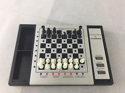 Hanimex - HCG 1500 - Computachess - Electronic Computer Chess Game - Vintage