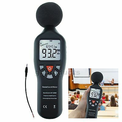 Professional High Accuracy Compact Sound Level Meter 30dB-130dB Measuring Range