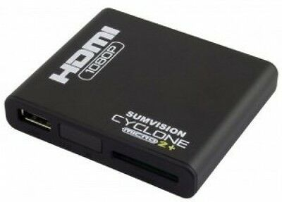 Sumvision Cyclone Micro 2+ Full HD HDMI 1080p Multi Media Player With Adaptor