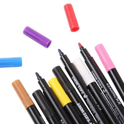 Pen Permanent Fabric Stained Marker For T-Shirt Clothes Bags Graffiti DIY