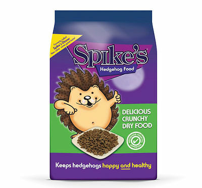 Spikes World Ltd Spike Dinner Hedgehog Dry Food Shaped For Adults & Hoglets 2.5k