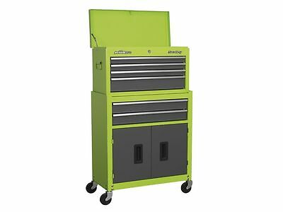 Sealey Pro Top Chest Tool Storage Box Ball Bearing 6 Drawers Roll Cab Cabinet