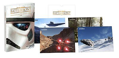 Star Wars Battlefront Collector's Edition Strategy Guide (Hardback) - NEW!