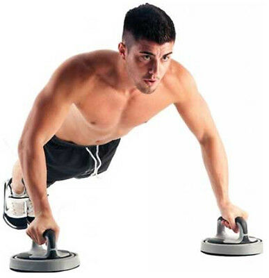 Fitness Mad Rotating Push Up Stands Work More Muscle Total Body Workout RRP £35