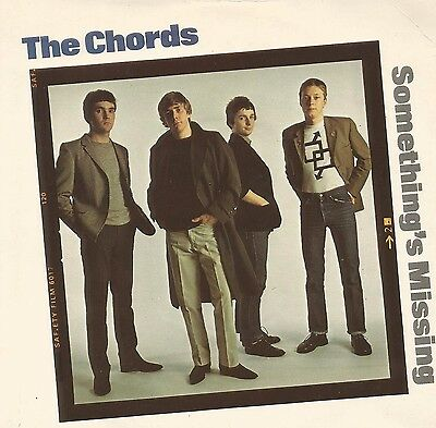 THE CHORDS - Somethings missing / This is what they want  - MOD 7 inch vinyl