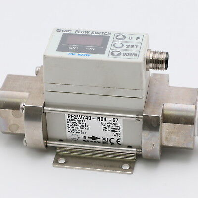 SMC PF2W740-N04-67 Flow Switch
