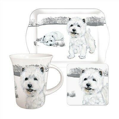 """Teatime Gift Set - Westie """"In The Highlands"""""""