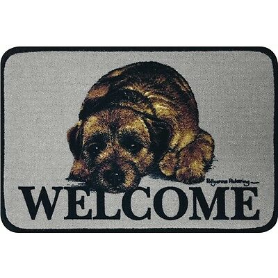 Floor Mat - Border Terrier