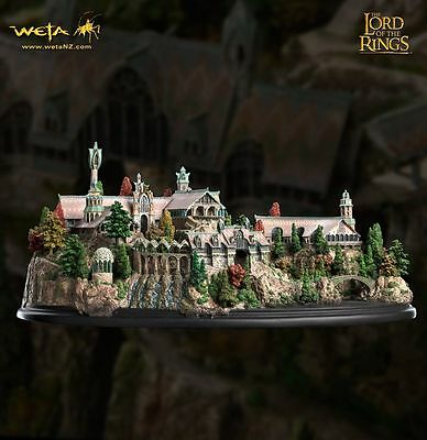 Weta Lord of the Rings the Hobbit Rivendell Environment Statue Figure New