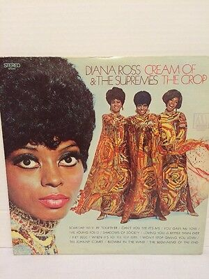 Soul Lp Diana Ross & The Supremes Cream Of The Crop On Motown