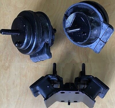 3pcSet Motor Mounts fit Lexus SC400 1992 93 - 95 96 97 98 1999 2000 Engine Trans