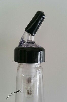 (1x) BAR POUR SPOUT 1-1/2 oz Measured Ounce Bottle Liquor Wine Pourer & Dust Cap