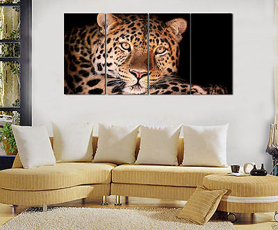 HD Prints on Canvas Home Deocr Wall Art Pictures Art,animal Leopard No Framed