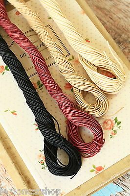 East of India PAPER TWIST String shabby chic craft tag parcel gift wrap string