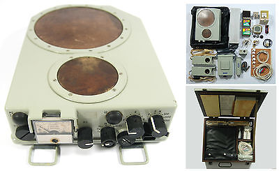 Rare Military Miniature Radar Locator Mrp-4 Set Receiver Cold War Antenna Radio