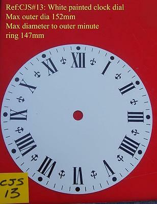 27/2 cjsd#13 Napoleon hat Replacement  clock dial 152mm od