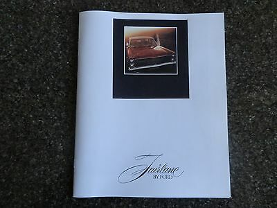 1970 Ford Zd Fairlane Sales  Brochure.  100% Guarantee.