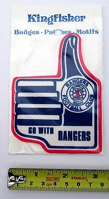 RANGERS FC - 1970s Retro Stick or Sew-on Patch