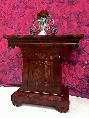 American Classical Empire Mint Julep Cabinet / Mixing Table