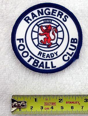 RANGERS - 1970s Retro Cloth Sew-On Patch