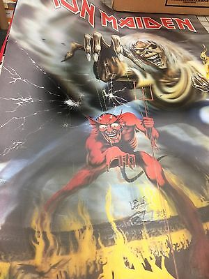 Iron Maiden Poster 3d poster number of the beast 2010