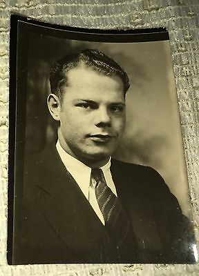 OLD Vintage Photo Of A Man