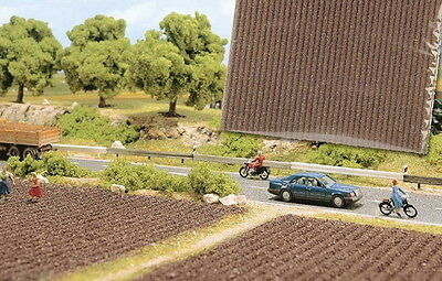 'PLOUGHED FIELD' SCENERY MAT ~ HO SCALE by BUSCH suit model train, diorama