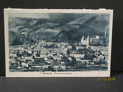 Cp - Ancienne Carte Postale Malmedy - Panorama General  - Ttb Etat
