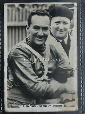 No.36 T T RACES - STANLEY WOODS Sporting Events and Stars by Pattreiouex 1935