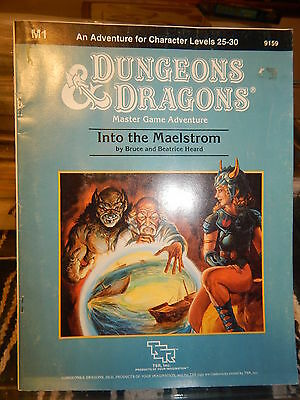 TSR 9159 Dungeons & Dragons M1 Into the Maelstrom