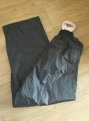 Regatta waterproof over trousers age 9-10 boys BNWT stormbreakers hydrafort