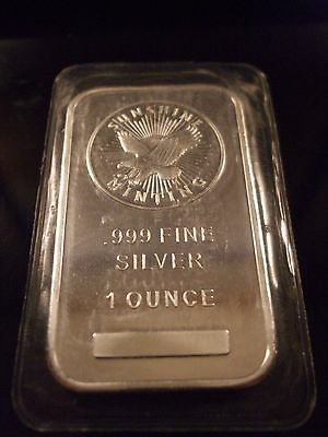 Sunshine Minting New In Orig. Packaging Flying Eagle 1 Oz. .999 Fine Silver Bar
