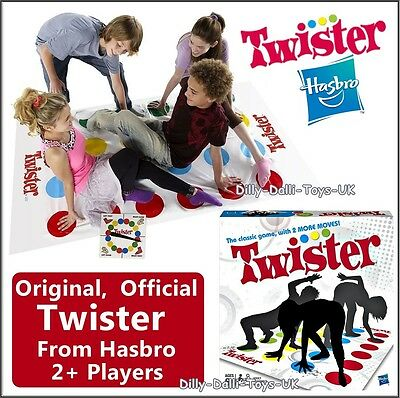 NEW Official TWISTER Game From Hasbro Gaming Classic Floor Board Game Party Fun
