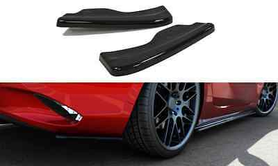 Cup Diffusor Ansatz carbon Mazda MX5 IV 4 ND Heck Flap Splitter rear Side ABS