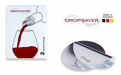 "DROPSAVER ""stop the drop"" (2er-Packung) - Weinausgießer, Flaschenausgießer"