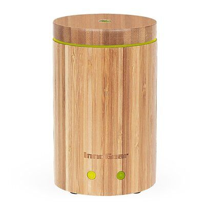 InnoGear Real Bamboo Essential Oil Diffuser Ultrasonic Aromatherapy Diffusers wi