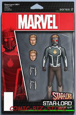 Star-Lord #1 (2017) 1St Print Christopher Action Figure Variant Cover Marvel Now