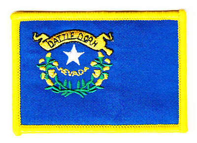 Aufnäher USA - Nevada Patch Flagge Fahne