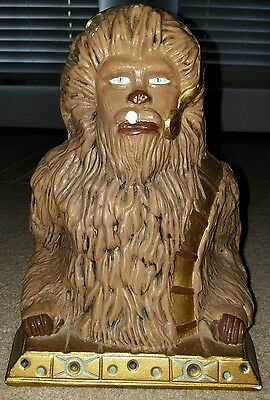 Vintage Star Wars Chewbacca Ceramic Bust