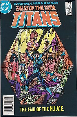 Tales Of The Teen Titans #47 Dc 1984