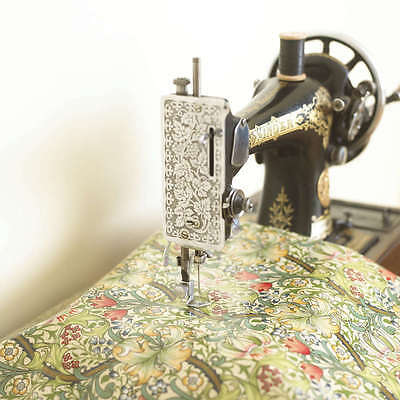 William Morris Golden Lily Pvc / Oilcloth Tablecloth Fabric by the Half Metre