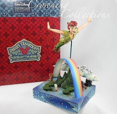 Jim Shore Peter Pan Soar to the Stars Neverland Figurine Disney Traditions NEW