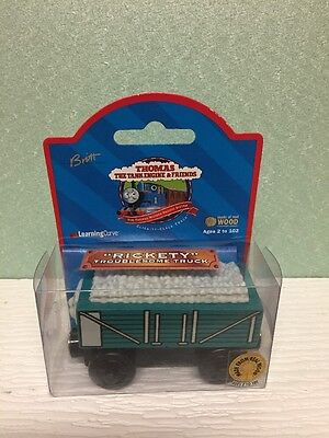 Thomas The Wooden Tank Engine Train Rickety. Town Label Nip