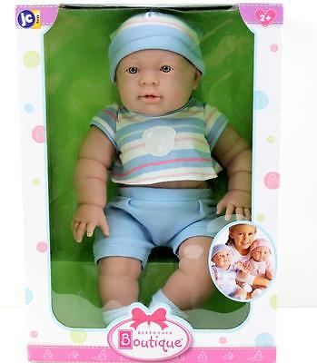 Baby Boy Doll  Berenguer Boutique Realistic Baby Doll New