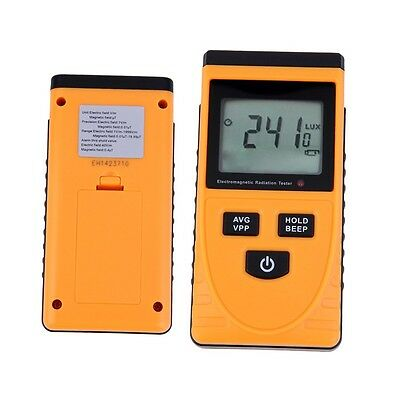 Digital LCD Electromagnetic Radiation Detector Meter Dosimeter Tester Counter I6
