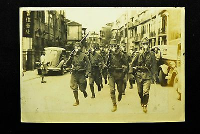 WW2 Imperial Japanese Navy Land Forces Photo 8.2 x 11.8cm Military very Rare #31