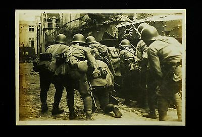 WW2 Imperial Japanese Navy Land Forces Photo 8.1 x 11.9cm Military very Rare #35