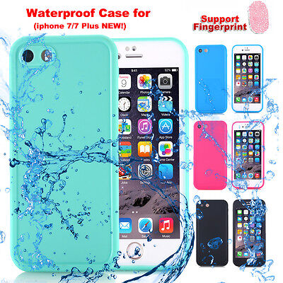 Waterproof Shockproof Dirt proof Dust Full Case Cover fr iPhone X 5s 6s 7 8 Plus